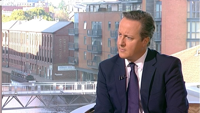 David Cameron on The Andrew Marr Show, 28/09
