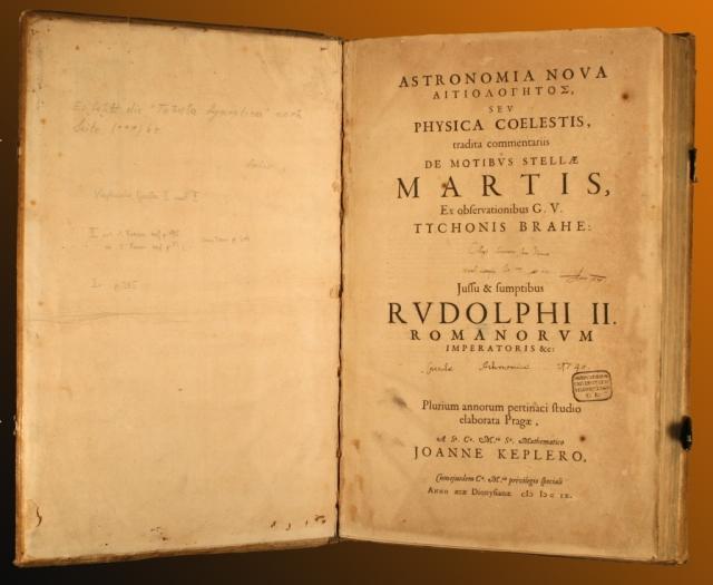Johannes Kepler's Astronomia Nova